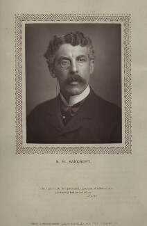 Sir Squire Bancroft Bancroft (né Butterfield), by St James's Photographic Co - NPG x135390