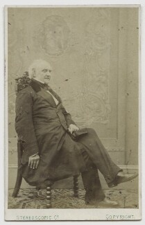 George Peabody, by London Stereoscopic & Photographic Company - NPG Ax46201