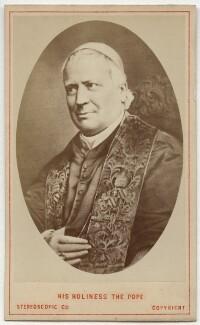 Pope Pius IX (Giovanni Maria Mastai-Ferretti), by London Stereoscopic & Photographic Company, after  Unknown artist - NPG Ax46223