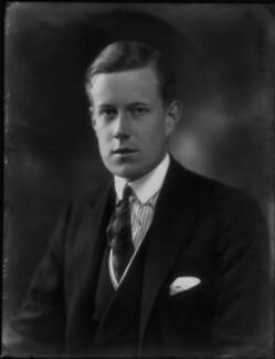Victor Alexander George Anthony Warrender, 1st Baron Bruntisfield of Boroughmuir, by Bassano Ltd - NPG x156442