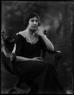 Theodora Mary (née Hickling), Lady Maxwell, by Bassano Ltd - NPG x156443