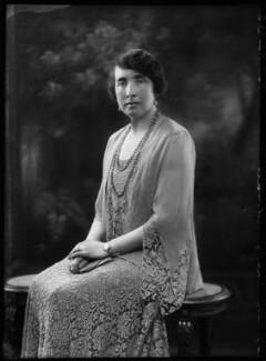 Dorothy Mary Mowbray (née Sayer), Lady Sturdee, by Bassano Ltd - NPG x156453