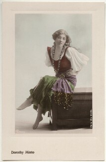Dorothy Minto as Flora in 'The Duke's Motto', by Rita Martin, published by  Aristophot Co Ltd - NPG x131576