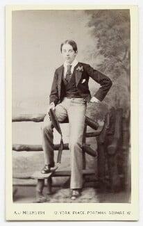 Unknown boy, by A.J. (Arthur James) Melhuish - NPG Ax46444