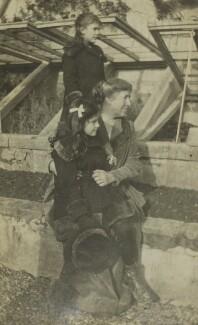 Ursula Margaret Wentzel (née Strachey); Barbara Strachey; Mary Berenson (née Smith), by Unknown photographer - NPG Ax160850