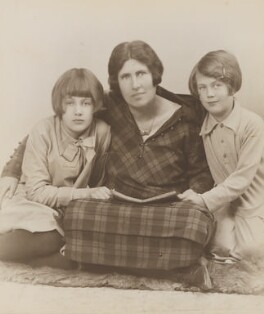 Karin Stephen with Ann and Judith, by Unknown photographer - NPG Ax160900