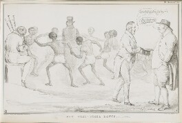 New West-India Dance, to the Tune of 20 Millions, by John ('HB') Doyle, printed by  Alfred Ducôte, published by  Thomas McLean - NPG D41204