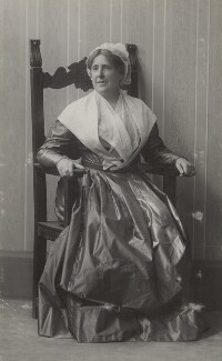 Mary Berenson (née Smith) in Quaker dress, by Unknown photographer - NPG Ax161084