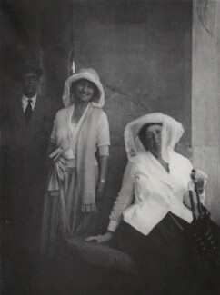 Mr Davies; Elisabetta ('Nicky') Mariano; Mary Berenson (née Smith), by Unknown photographer - NPG Ax161101