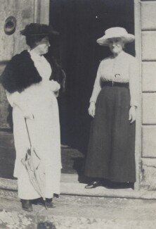 Mary Berenson (née Smith); Janet Ann Ross (née Duff Gordon), by Unknown photographer - NPG Ax161131