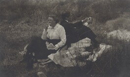 Mary Berenson (née Smith); Geoffrey Scott, by Unknown photographer - NPG Ax161139