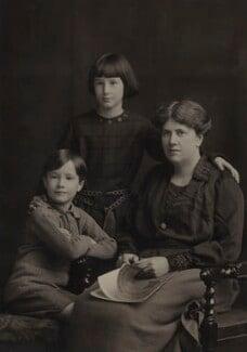 Christopher Strachey; Barbara Strachey; Ray Strachey, by Elliott & Fry - NPG Ax161151