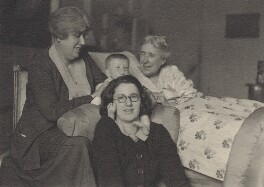 'Four Generations', by Unknown photographer, 1935 - NPG Ax161209 - © National Portrait Gallery, London