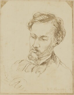 Dante Gabriel Rossetti, possibly after Dante Gabriel Rossetti - NPG D9932