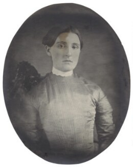 Hannah Smith (née Whitall) (Mrs Pearsall Smith), by Unknown photographer - NPG Ax160496