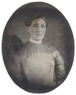 Hannah Tatum Smith (née Whitall), by Unknown photographer - NPG Ax160496