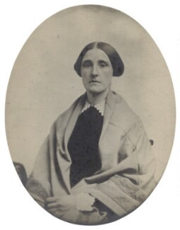 Hannah Smith (née Whitall) (Mrs Pearsall Smith), by Unknown photographer - NPG Ax160498