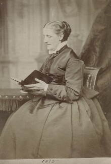 Hannah Smith (née Whitall) (Mrs Pearsall Smith), by Unknown photographer - NPG Ax160505