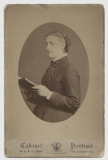 Hannah Smith (née Whitall) (Mrs Pearsall Smith), by W. & A.H. Fry (Walter & Allen Hastings Fry) - NPG Ax160506