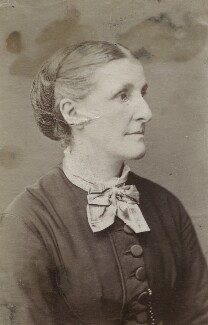 Hannah Smith (née Whitall) (Mrs Pearsall Smith), by Unknown photographer - NPG Ax160510