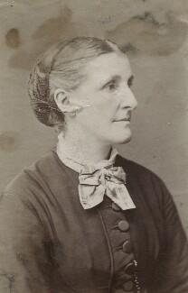Hannah Tatum Smith (née Whitall), by Unknown photographer - NPG Ax160510