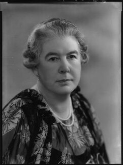 Edith Mary (née Parker), Duchess of Somerset, by Bassano Ltd - NPG x156494