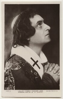 Cavendish Morton as St Dunstan, by Cavendish Morton, published by  Rotary Photographic Co Ltd - NPG x135421