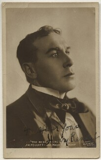 Henry Renouf as Jim Poulett in 'The Edge of the Storm', by Cavendish Morton - NPG x135422