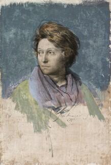 Odette Marie Céline Hallowes (née Brailly), by Pietro Annigoni, 1961 - NPG 6932 - © estate of Pietro Annigoni / National Portrait Gallery, London