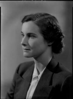 Lady Anne Sophia Berry (née Walpole), by Bassano Ltd, 1 August 1939 - NPG x156519 - © National Portrait Gallery, London