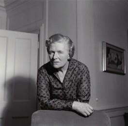 Unknown woman formerly identified as Kathleen Hamet (née Dunn), Lady Adeane, by Ida Kar - NPG x135432
