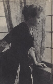 Evelyn Hunter Nordhoff, by Unknown photographer, 1884 - NPG Ax160582 - © National Portrait Gallery, London