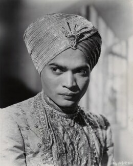 Sabu as The Young General in 'Black Narcissus', by Unknown photographer - NPG x135435