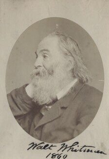 Walt Whitman, by Unknown photographer - NPG Ax160621
