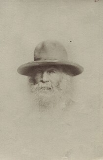Walt Whitman, by Unknown photographer - NPG Ax160622
