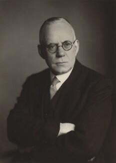 Sir (Crawfurd) Wilfrid Griffin Eady, by Walter Stoneman, 27 April 1948 - NPG x167161 - © National Portrait Gallery, London