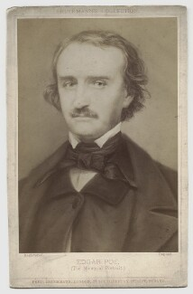 Edgar Allan Poe, by Friedrich Bruckmann, after  Samuel W. Hartshorn - NPG x135440