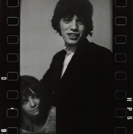 Chrissie Shrimpton; Mick Jagger, by Eric Swayne - NPG x135473