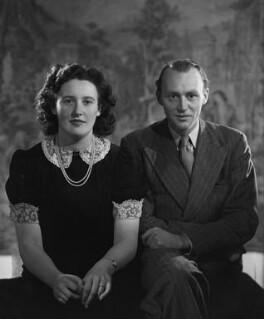 Margaret Anne Hutchinson (née Robertson Rodger); John Colvin Hutchinson, by Bassano Ltd - NPG x178911