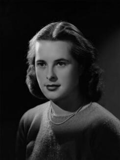 Priscilla Ann Mansfield (née Fielder Johnson), by Bassano Ltd - NPG x178917