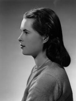 Priscilla Ann Mansfield (née Fielder Johnson), by Bassano Ltd - NPG x178918