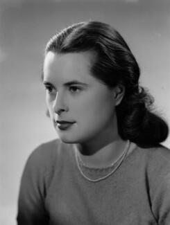 Priscilla Ann Mansfield (née Fielder Johnson), by Bassano Ltd - NPG x178919