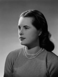 Priscilla Ann Mansfield (née Fielder Johnson), by Bassano Ltd - NPG x178920