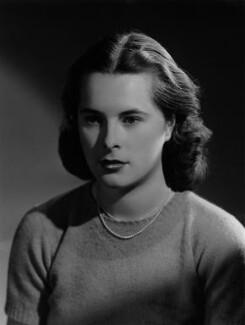 Priscilla Ann Mansfield (née Fielder Johnson), by Bassano Ltd - NPG x178921