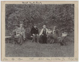Pearsall Smith Family, by Unknown photographer - NPG Ax160701