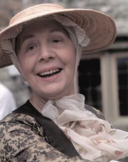 Dame Edith Evans (Dame Edith Mary Booth), by Sandra Lousada - NPG x135443
