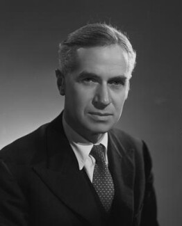 Sir (Eric) Crawford Tansley, by Bassano Ltd, 29 May 1945 - NPG x178953 - © National Portrait Gallery, London
