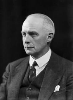 Sir Robert Blyth Greig, by Bassano Ltd - NPG x156684