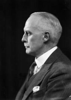 Sir Robert Blyth Greig, by Bassano Ltd - NPG x156686
