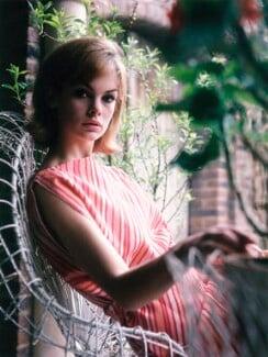 Jean Shrimpton, by Sandra Lousada - NPG x135461